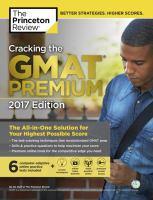 Cracking the GMAT Premium