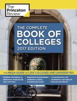 The Complete Book of Colleges