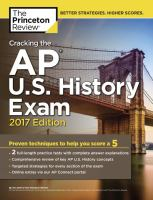 Cracking the AP U.S. History Exam 2017