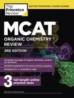MCAT® Organic Chemistry Review