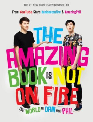 Cover image for The Amazing Book Is Not on Fire
