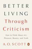 Better Living Through Criticism