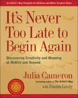 Image: It's Never Too Late to Begin Again