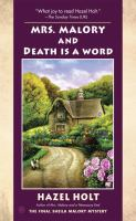 Mrs. Malory and Death Is A Word