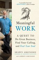 Meaningful Work : A Quest to Do Great Business and Keep Your Soul