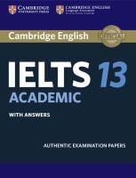 Cambridge English IELTS 13 Academic