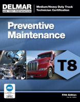 Medium/heavy Duty Truck Technician Certification Series