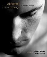Abnormal psychology : an integrative approach