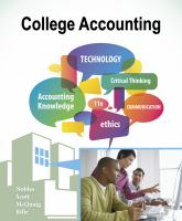 College Accounting (Text -11th)