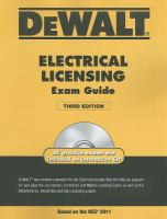 DeWalt Electrical Licensing Exam Guide