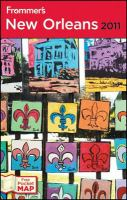 Frommer's New Orleans 2011
