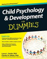 Child Psychology & Development for Dummies