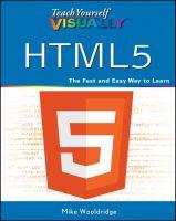 Teach Yourself Visually HTML5
