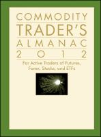 The Commodity Trader's Almanac 2012