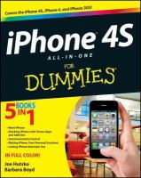 IPhone® 4S All-in-one for Dummies®