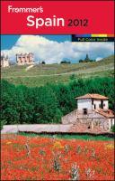 Frommer's Spain 2012