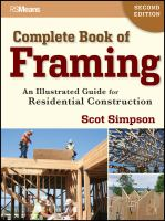 Complete Book of Framing