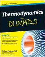 Thermodynamics for Dummies