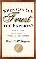 When Can You Trust the Experts?