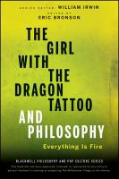 The Girl With the Dragon Tattoo and Philosophy