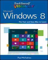 Teach Yourself Visually Windows 8