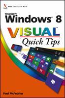 Windows 8 Visual Quick Tips