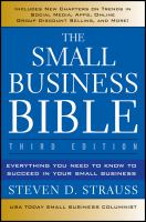 The Small Business Bible