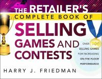 The Retailer's Complete Book of Selling Games and Contests