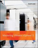 Mastering VMware VSphere5