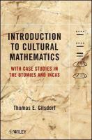 Introduction to Cultural Mathematics
