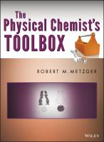 The Physical Chemist's Toolbox