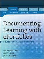 Documenting Learning With EPortfolios