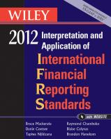 Wiley 2012 Interpretation and Application of International Financial Reporting Standards