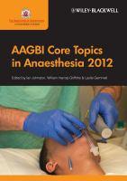AAGBI Core Topics