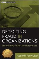 Detecting Fraud in Organizations