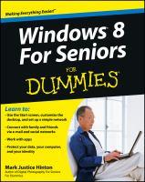 Windows 8 for Seniors for Dummies