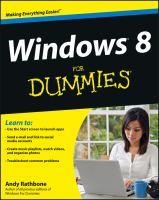 Windows 8 for Dummies