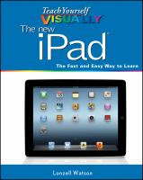 Teach Yourself Visually the New IPad