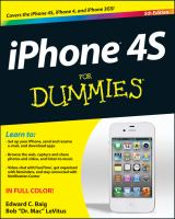 IPhone 4S for Dummies, 5th Edition
