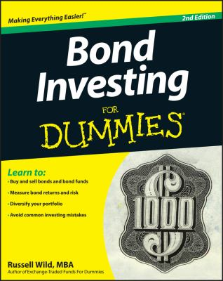 Cover image for Bond Investing for Dummies