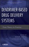 Dendrimer-based Drug Delivery Systems