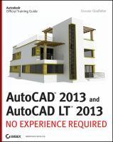 AutoCAD 2013 and AutoCAD LT 2013