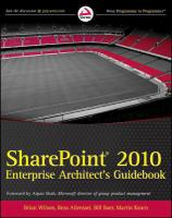 Professional SharePoint 2010