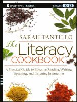 The Literacy Cookbook