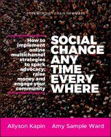 Social Change Anytime Everywhere