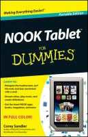 NOOK Tablet for Dummies