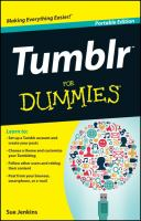 Tumblr for Dummies, Portable Edition