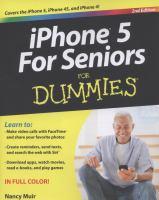 IPhone 5 for Seniors