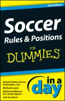 Soccer Fundamentals In A Day For Dummies, USA Edition