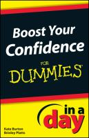 Boost your Confidence in A Day for Dummies